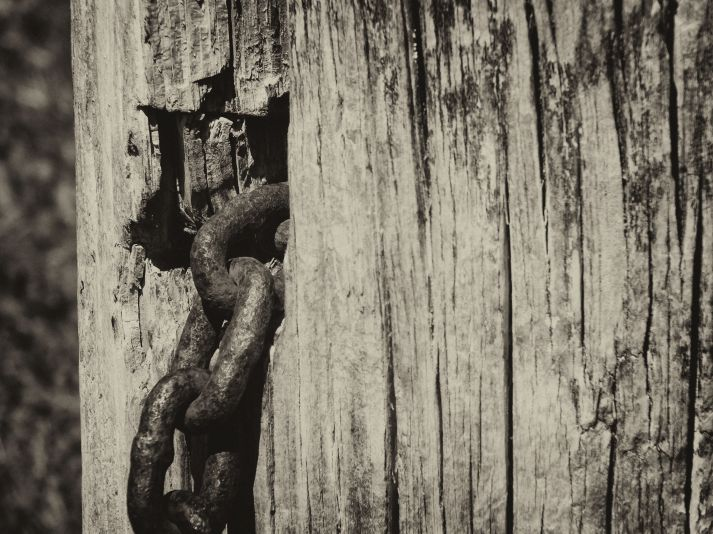 Chain and tree (antique)
